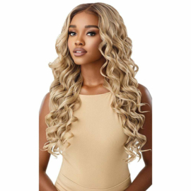 "Outre Perfect Hairline HD Transparent 13"" x 4"" Lace Front Wig Charisma"