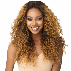 Outre Synthetic Swiss Lace Front Wig - BILLIE