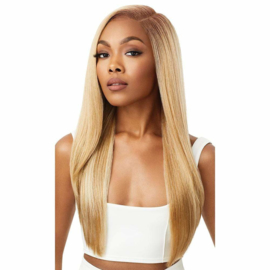 "Outre Perfect Hairline FAUX SCALP HD Transparent 13"" x 4"" Lace Front Wig Jaylani"