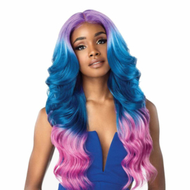 Sensationnel Shear Muse Synthetic Lace Front Wig - Chana