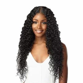 """Sensationnel Butta Lace Human Hair Blend Lace Front Wig - Bohemian 28"""""""