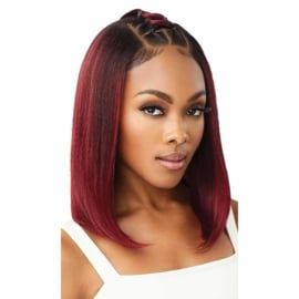 "Outre Perfect Hairline HD Transparent 13"" x 4"" Lace Front Wig Dannita"