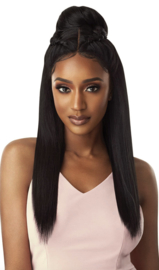 Outre Synthetic Swiss X Lace Front Wig - TAVIA BLOW OUT STRAIGHT