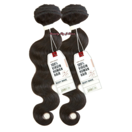 Sensationnel Malaysian Bare & Natural 7A BODY WAVE Weave