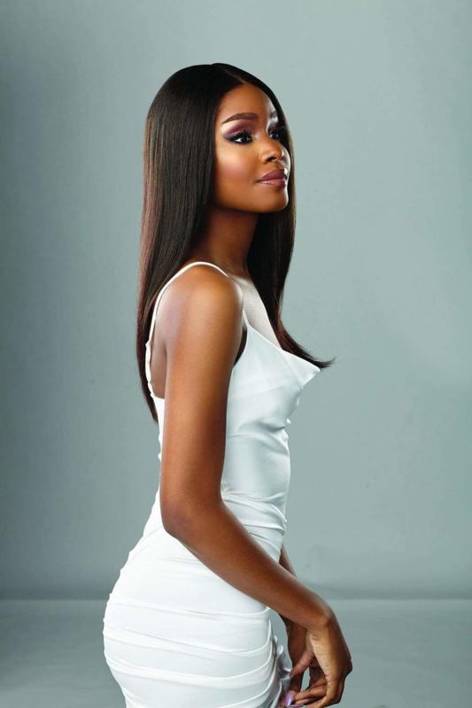 "Sensationnel Virgin Human Hair HD Lace Wig - Natural Straight 22"""