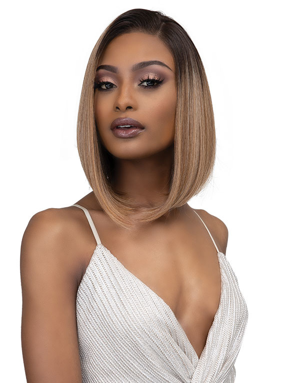 Janet Collection Synthetic Melt 13x6 Lace Frontal Wig - ASIA