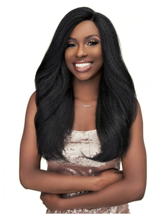 Janet Collection Natural Me Blowout HD Lace Front Wig Tamila