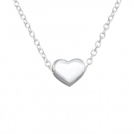 Ketting hart 925 sterling zilver