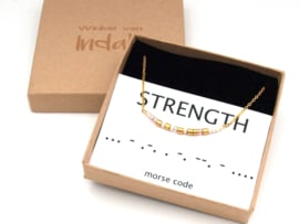 Ketting morse code Strength