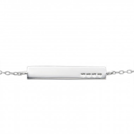 Armband love- 925 sterling zilver