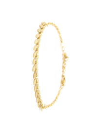 Armband rvs arrow (zilver,goud)