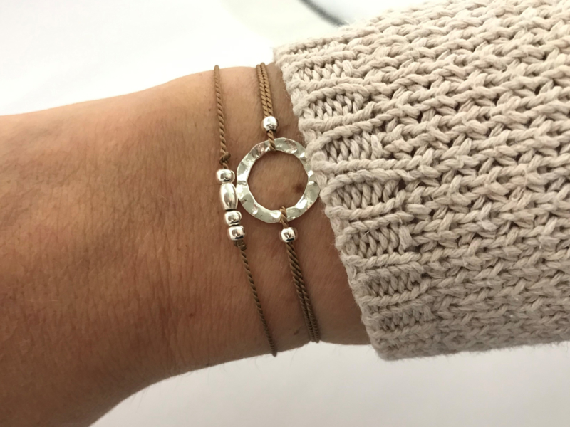 Armband circle of life-  925 sterling zilver