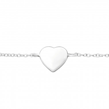 Armband hearts- 925 sterling zilver
