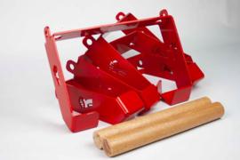 Set van 4 Gibbons, rood of zwart