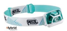 Petzl Tikkina Hybrid wit/lichtblauw