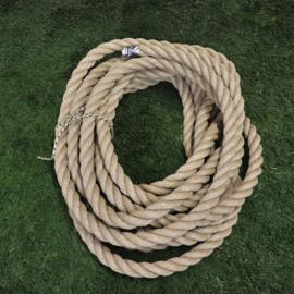 Dik touw  3cm, 12,5mtr Polyhemp (outlet)