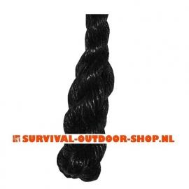 Lang touw 40mm met stalen kous