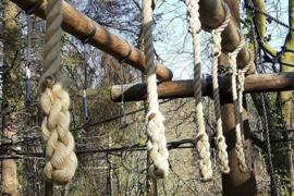 Set korte touwen 4 stuks polyhemp