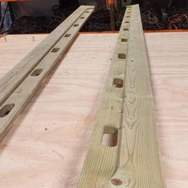 Enterplank 5 mtr outdoor | B-keus (outlet)