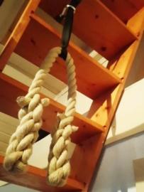 Pull up rope met montageset