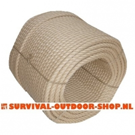 12mm kunst hennep (PP tex)