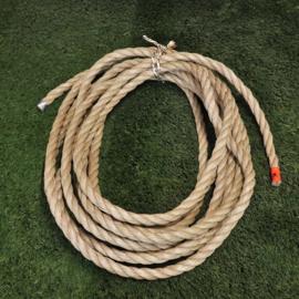 Dik touw  2,5cm, 14mtr (outlet)