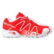 Salomon Speedcross 3 Adv , maat  41.2/3 , rood/wit
