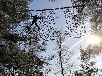 Klimnet-hoogteparcours