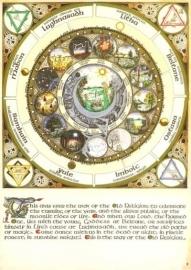 Maankalender A3