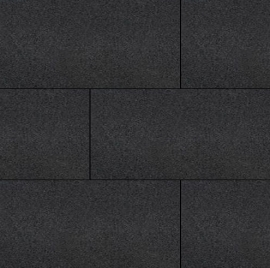 H2O Comfort Square 80x40x5 Black Emotion