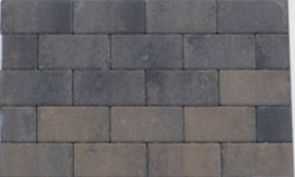 Design Brick 6 cm Grigio Camello mini facet deklaag