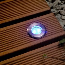 Garden Lights Astrum blauw licht