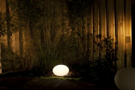 Garden Lights Oval 28 RGB licht