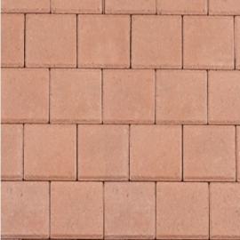 Halve betonklinker 8 cm heide