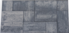 Patio mixed Nero Grey 4 cm