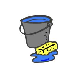 Hoe maak ik mijn bestrating schoon?