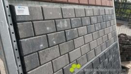 Betonklinker 6 cm grijs zwart