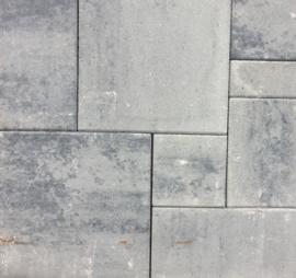 Wildverband Strak 5 cm grijs zwart