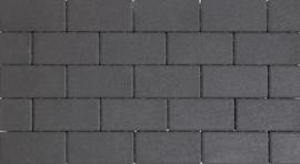Design Brick 6 cm black mini facet deklaag