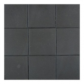 Betontegel 30x30x4,5 zwart