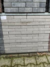Waalformaat 6 cm strak grijs