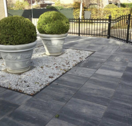 Patio square 60x60x4 Nero Grey
