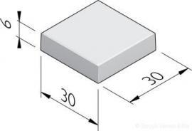 Betontegel 30x30x6 Grijs