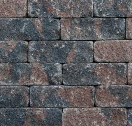 Splitrocks 11x13x32 bruin zwart getrommeld