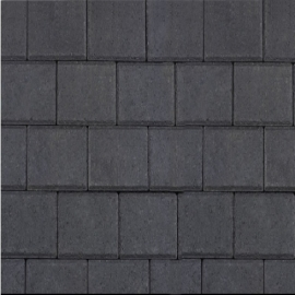 Halve betonklinker 8 cm antraciet