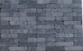 Getrommelde waalformaat grijs zwart
