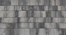 Patio Straight 7cm Banenverband Nero/Grey exclusive