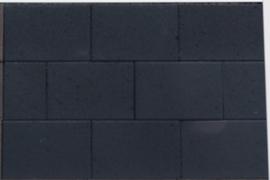 Straksteen 20x30x6 antraciet