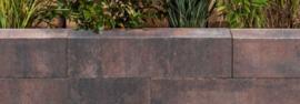 Linea strak 15x15x60 cm Tricolore
