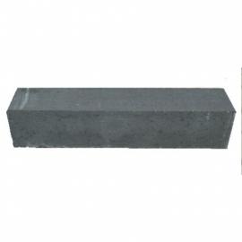 Linea strak 15x15x80 cm antraciet